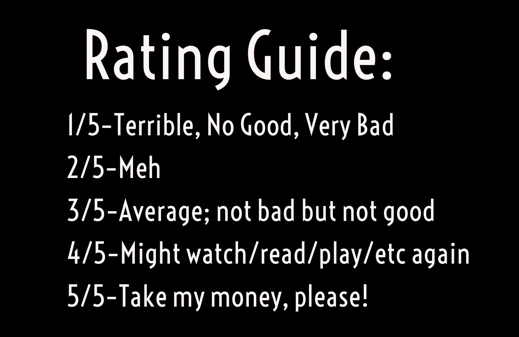 Review Guide