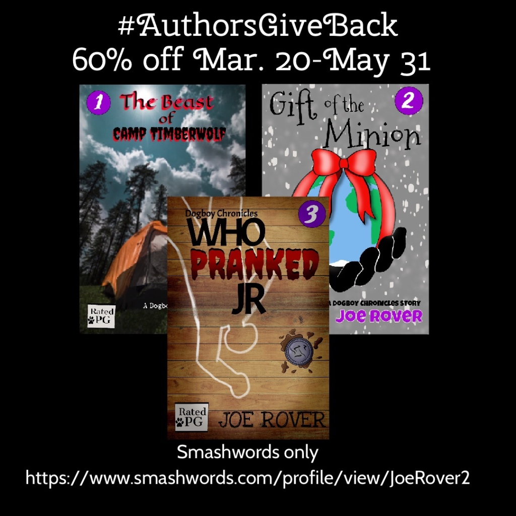 Smashwords Authors Give Back sale.